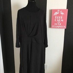 Beautiful Asymmetrical Pleated Dress